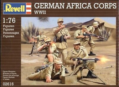 Revell 02616 - WWII German Afrika Corps1:76