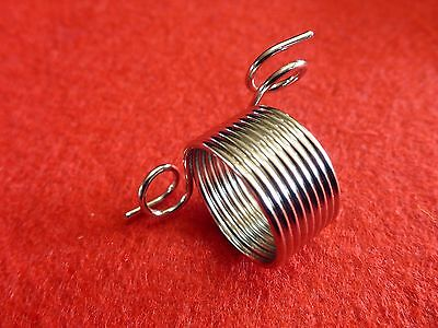 19 mm Metal Norwegian Knitting Thimble 2 Yarn Guides Finger Spring Fair Isle