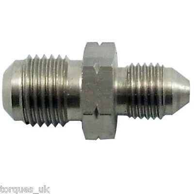 AN -3 ( 3AN) to M10x1.0 Metric Stainless Steel Adapter