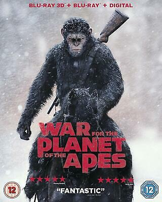 War For The Planet Of The Apes [Blu-Ray 3D + Uv] [2017]