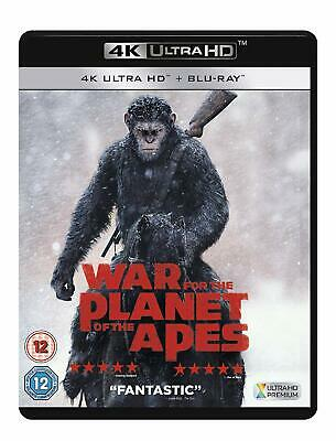 War For The Planet Of The Apes (4K Ultra HD) Andy Serkis, Woody Harrelson