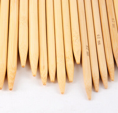 Bamboo Double Pointed Knitting Needles Sock DPN 20cm long