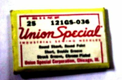 Union Special ,121 GS-036 Sewing Machine Needles (25 needles)