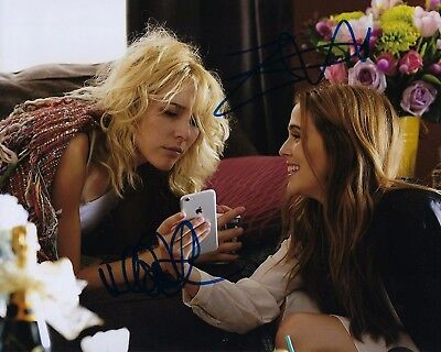 GFA Year of Spectacular Men * ZOEY & MADELYN DEUTCH * Signed 8x10 Photo AD2 COA