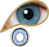 Colored Lenses - MesmerEyez - Blue - Real Blue - 1 day lenses