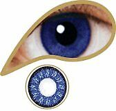 Colored Lenses - MesmerEyez - Royal Blue - 3 month lenses
