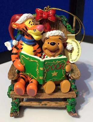2008 Danbury Mint Winnie the Pooh Tigger A CHRISTMAS STORY Ornament NEW in Box