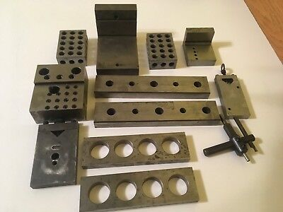 Lot Of Machinist Steel Machining Blocks