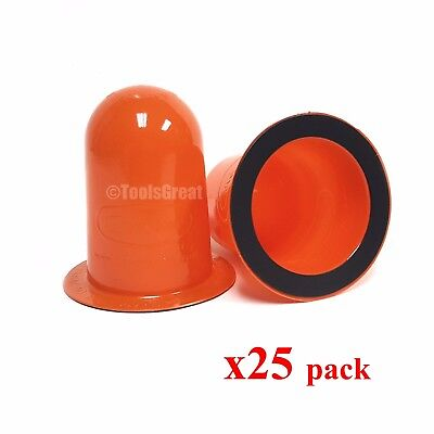 Coverdome Fire Sprinkler Cover Magnetic Ring Cover 25 pack