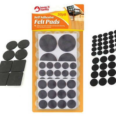 ANTI SCRATCH PADS ORNAMENT FELT PADS 50PK 50 ADHESIVE FELT PADS FURNITURE