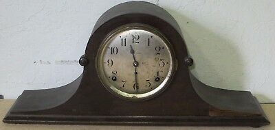 Antique SETH THOMAS Mantle Clock WITH KEY Winding Movement (Running / Fast) <><