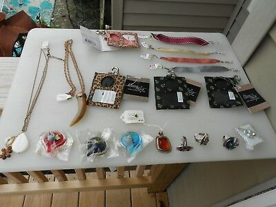 Lot Of 18 New Jewelry Items - Recent Store Closing