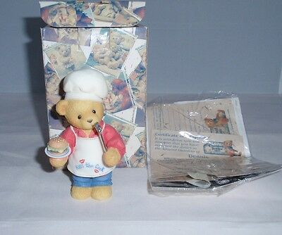 "Enesco Cherished Teddies ""You Put The Spice In My Life"" Dennis 510963"