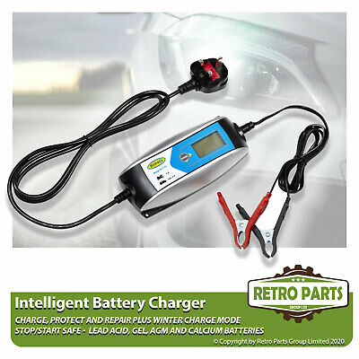 Smart Automatic Battery Charger for Vauxhall Vectra. Inteligent 5 Stage