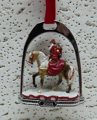 Breyer Horse Father Christmas Stirrup Ornament 2004 No Box