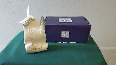 """Lladro Society Plaque 1998 - Collector's Society """"Art Brings Us Together"""""""