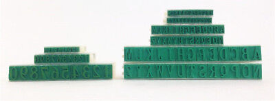 Rubber Stamp Alphabet Letters Numbers Free Combination DIY Plastic S M L