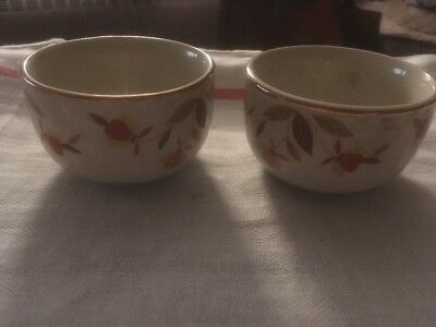 Hall's Superior Quality Kitchen Ware Pair Of Small Bowls
