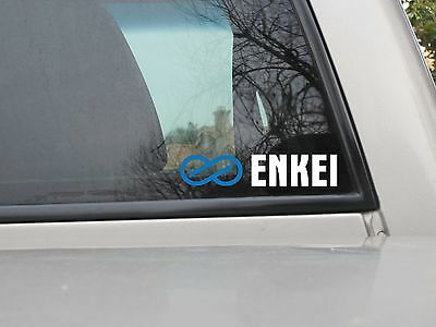 Enkei Logo Vinyl Sticker Decal Various Sizes Aftermarket Accessories Wheels Rims