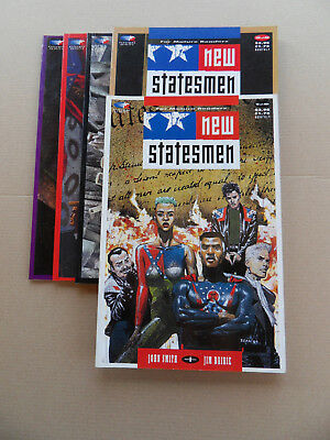 New Statesmen 1 - 5 . Lot Complet . Fleetway .1989 / 90 . VF / VF +
