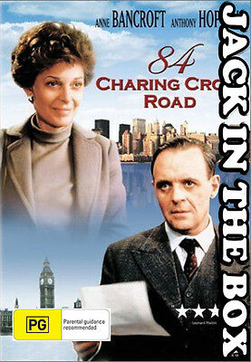 84 Charing Cross Road DVD NEW, FREE POSTAGE WITHIN AUSTRALIA REGION ALL