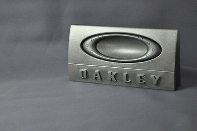 "Oakley Display 2.0, 3-Tier, 2-Tier, 1-Tier & ""o"" Metal Sign! 4 New/sealed Items!"