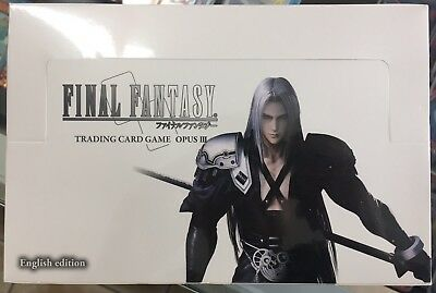Final Fantasy Opus 3 Booster Box Brand New