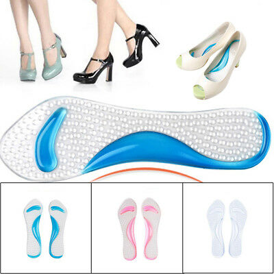 Flat Feet Gel Arch Support Orthotic Shoe insole Cushion Pads
