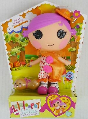 Lalaloopsy littles Peanuts kleine Schwester Squirt Lil´Top Puppe + Haustier