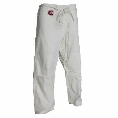 NEW SMAI Judo Pants - Martial Arts Uniforms S/W White - Adult/Kids Size 3 to 5