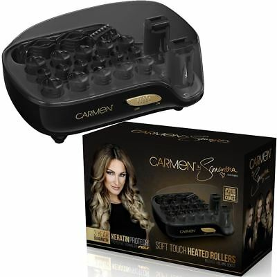 Carmen by Samantha Electric 16x Heated Hair Rollers 120°C Keratin Protech C81041
