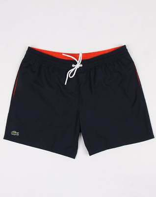 d4bb182dae Lacoste Swim Shorts in Navy & Mexico Red - trunks, swimmers, beach shorts