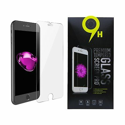 For iPhone 6, 7, 8, S, Plus Premium Tempered GLASS Screen Protector Bubble Free