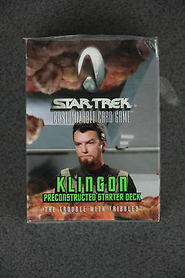 "Star Trek CCG ""The Trouble With Tribbles"" Klingon Preconstructed Starter"