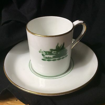 Crown Staffordshire England Express Cup&Saucer MM Company New York