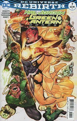 Hal Jordan and the Green Lantern Corps #7 (Rebirth) 1st Print DC Comics