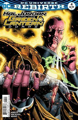 Hal Jordan and the Green Lantern Corps #4 (Rebirth) 1st Print DC Comics