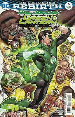 Hal Jordan and the Green Lantern Corps #6 (Rebirth) 1st Print DC Comics