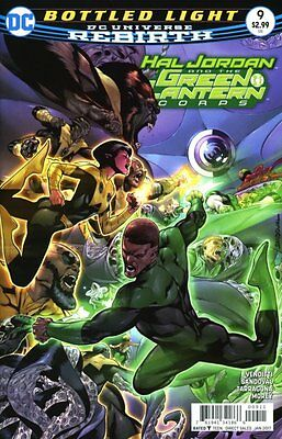 Hal Jordan and the Green Lantern Corps #9 (Rebirth) 1st Print DC Comics