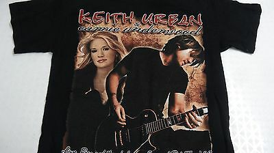 Keith Urban Carrie Underwood 2008 Tour Shirt sz small