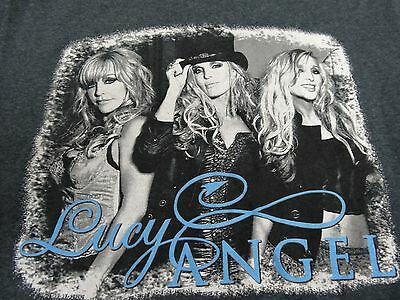 Lucy Angel Country Music Trio T-Shirt Sz S