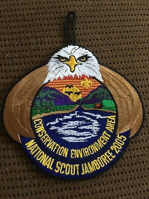 2005 National Boy Scout Jamboree Conservation Environment Area Patch MINT! Jambo