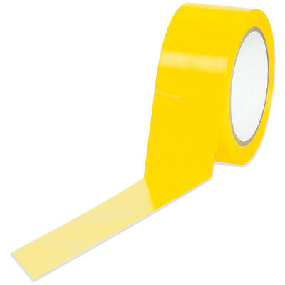 """Tape Logic Solid Vinyl Safety Tape 6.0 Mil 2"""" x 36 yds. Yellow 24/Case T9236Y"""