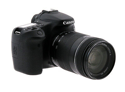 Canon EOS 70D Digital SLR Camera w/18-135mm f3.5-5.6 Lens (Used)