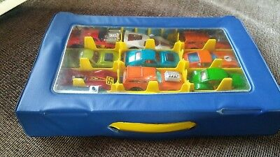 Matchbox Superfast 12 Car Carry Case Full SUPERB LOT