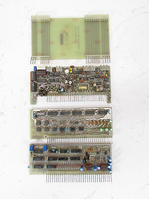MCI lot with 3 PCB's and one extender card