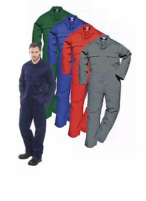 Portwest S999 Euro Work Men Polycotton Coverall Multi Pocket Overall Boiler Suit
