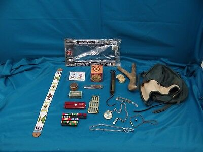 Junk Drawer Lot Hunting Misc. Items, WW II,  Etc.
