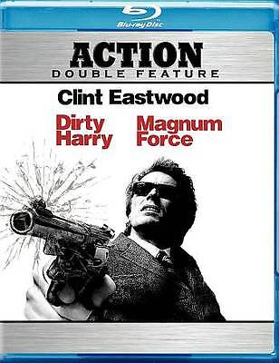 Dirty Harry & Magnum Force - NEW Blu-ray 2-Disc Set - Clint Eastwood - SEALED