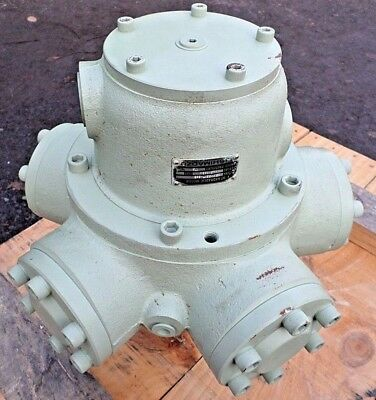 SHIMADZU   25A115S1T-269   5 Piston Radial  HT HYDRAULIC MOTOR    REMANUFACTURED